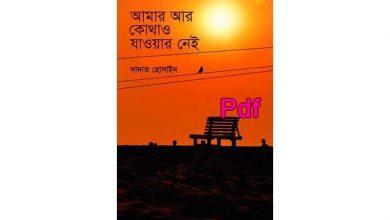 Photo of আমার আর কোথাও যাওয়ার নেই Pdf Download সাদাত হোসাইন – Amar Ar Kothaw Jawar Nei pdf