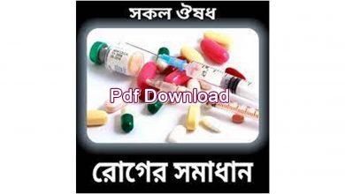 Photo of ঔষধের গ্রুপের নাম Pdf Download
